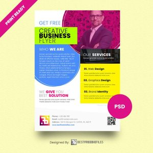 get print ready business flyer